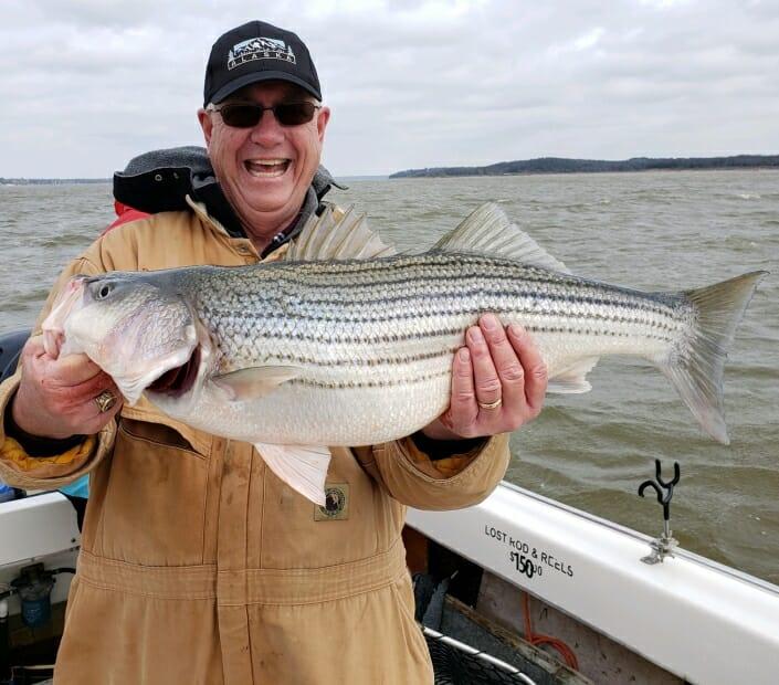 Lake Texoma Striper Fishing | Striper Fishing Lake Texoma