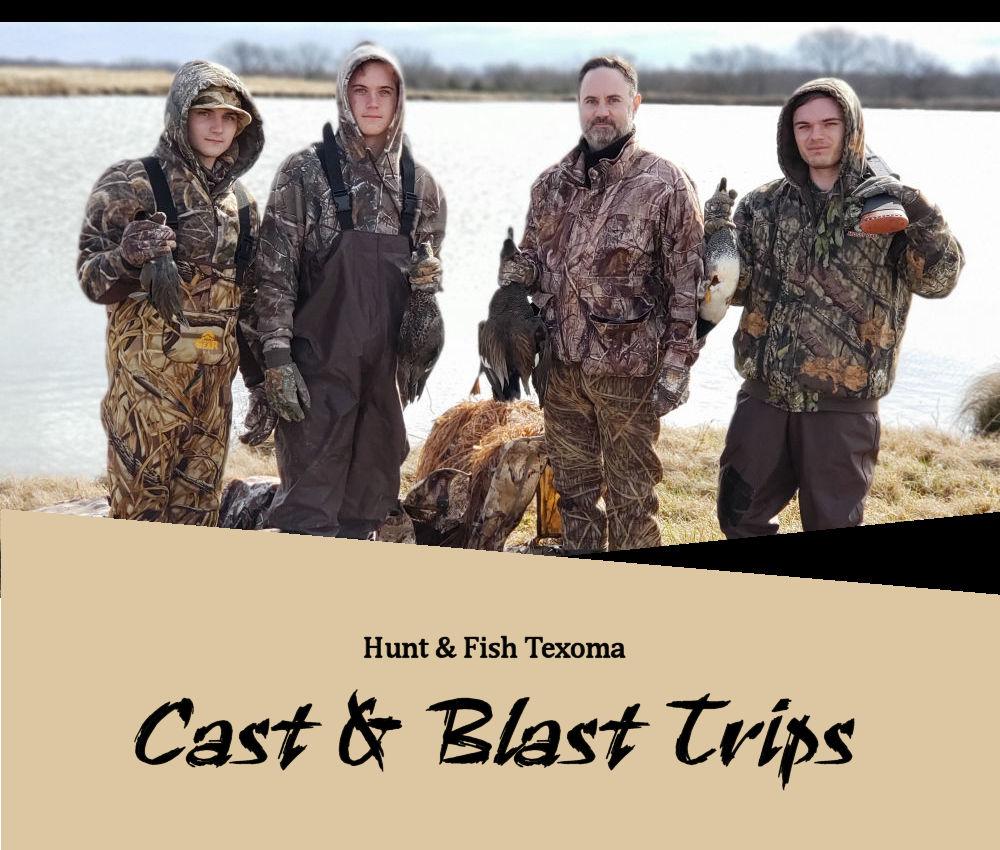 Lake Texoma Fishing Guide | Hunt And Fish Lake Texoma Cast And Blast